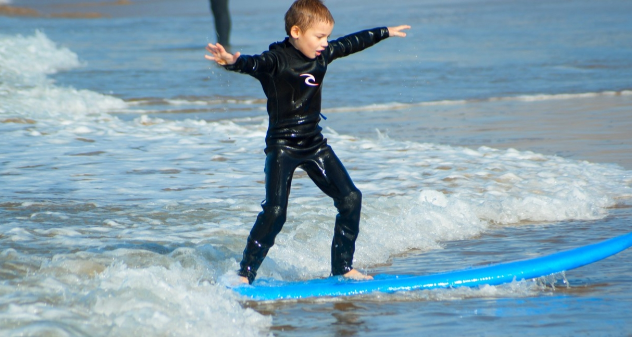 Fantastic family surf holidays